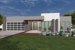 barcoo house perspective front view