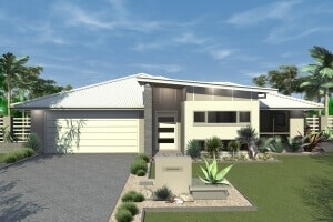 David Reid Homes Cotter House 3D render