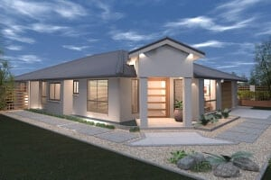 custom home builders Darling house