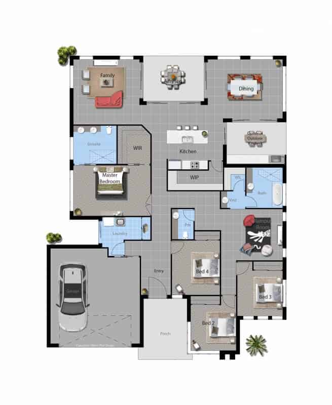 barcoo house master floor plan