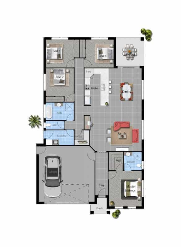 David Reid Homes Fitzroy floor plan