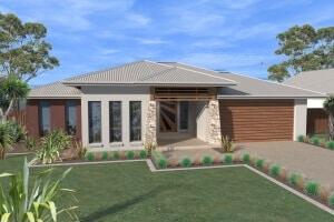 David Reid Homes Johnson House 3D render