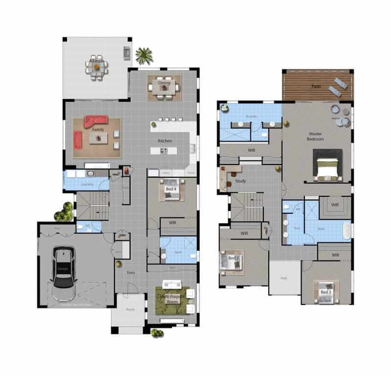 David Reid Homes Mackay house floorplan