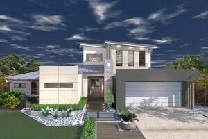 David Reid Homes St Clair house 3D render