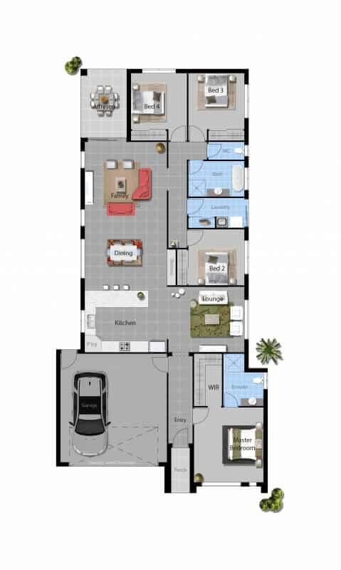 David Reid Homes Tumut House Floor plan