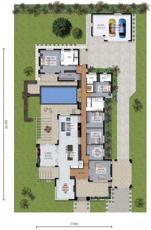 David Reid Homes Bridlewood house floor plan