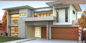 David Reid Homes Kingsgate facade view