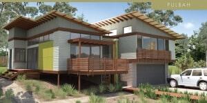 custom home pulbah facade