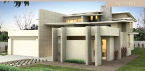 David Reid Homes Reintree house facade