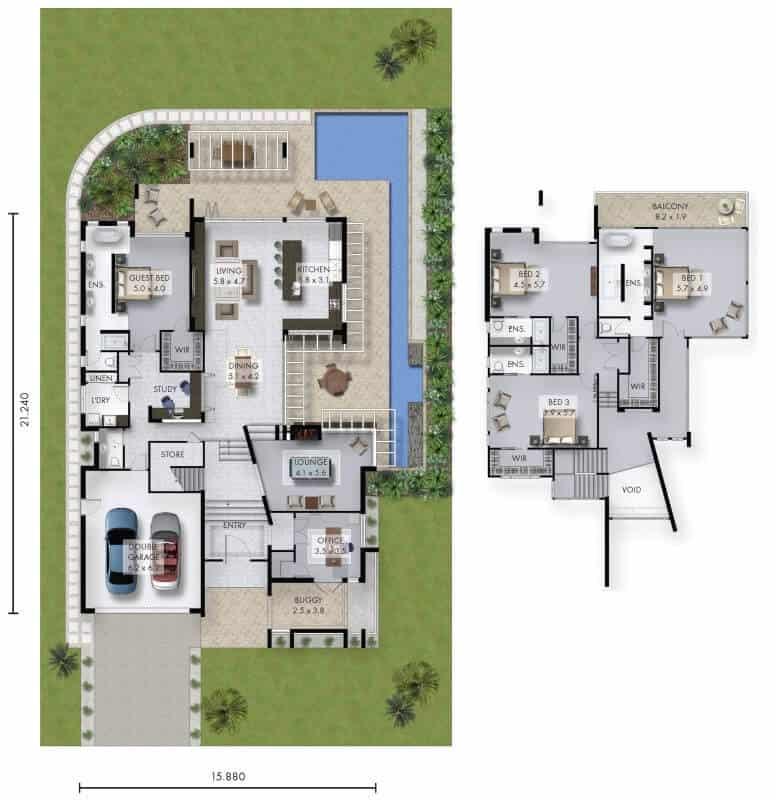 David Reid Homes reintree house Floor Plan