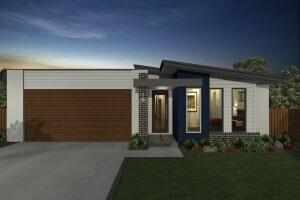 Davide Reid Homes Naomi Modern house plan 3D model