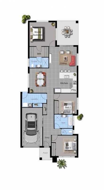 torrens modern house floor plan